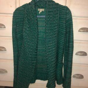 Kirra Green Cardigan Sweater